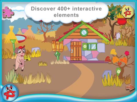 Three Little Pigs: Interactive Touch Book screenshot 9