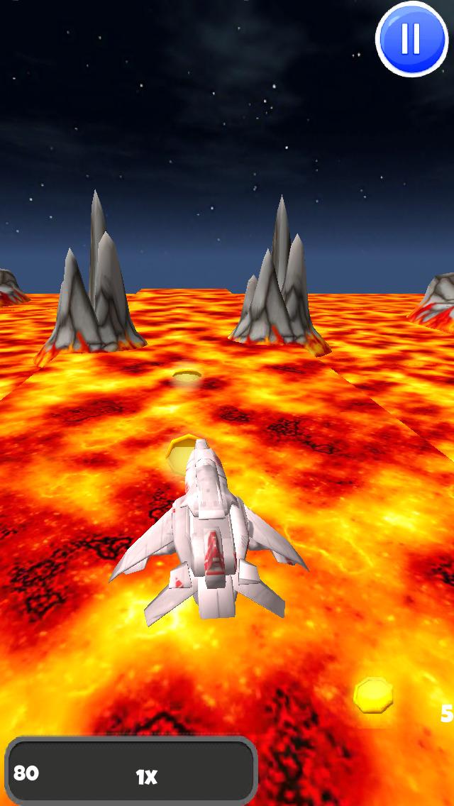 A Spaceship Galaxy: 3D Space Flight Game - FREE Edition screenshot 3