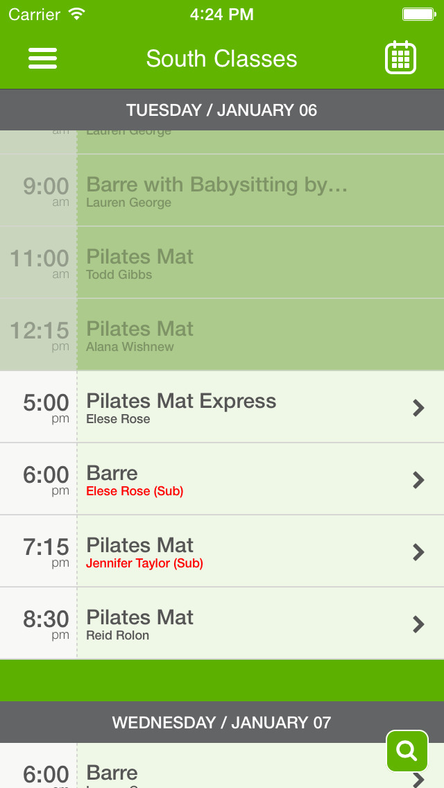 ToddPilates & Barre Fitness screenshot #3