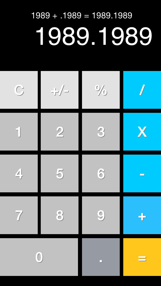 Minimal Calculator screenshot 2