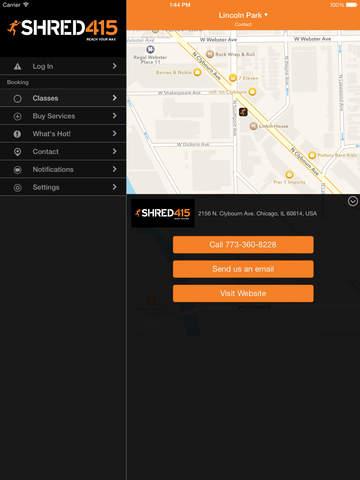 Shred415 Fitness screenshot #4