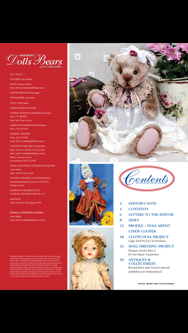 Australian Dolls Bears and Collectables screenshot 2