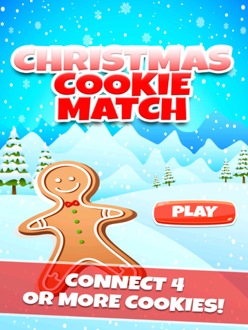 Christmas Cookie Match Game screenshot 10