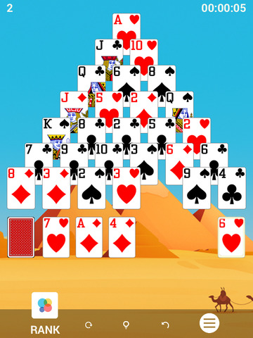 Pyramid™ Solitaire screenshot 4