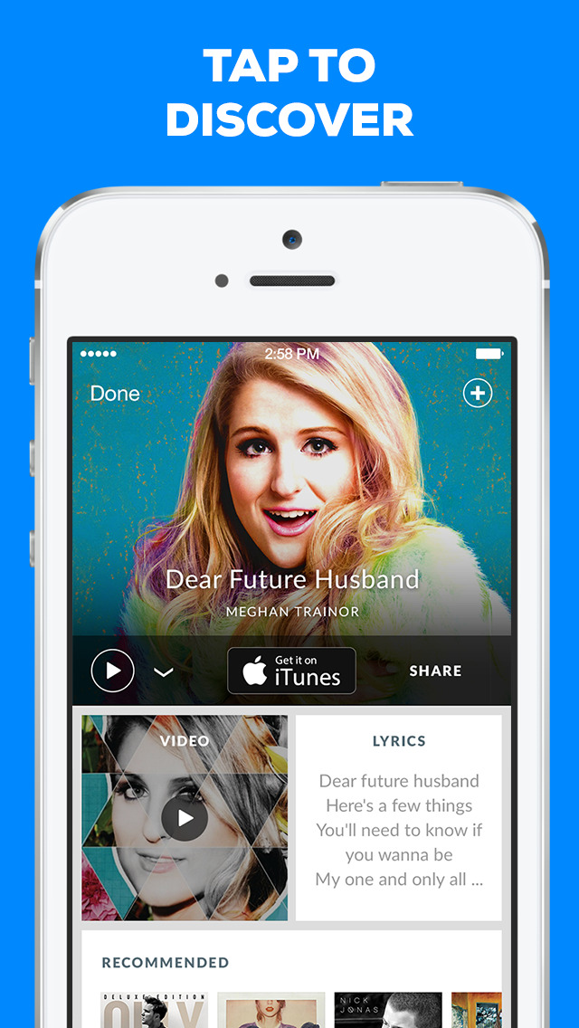 Shazam: Music Discovery screenshot 1