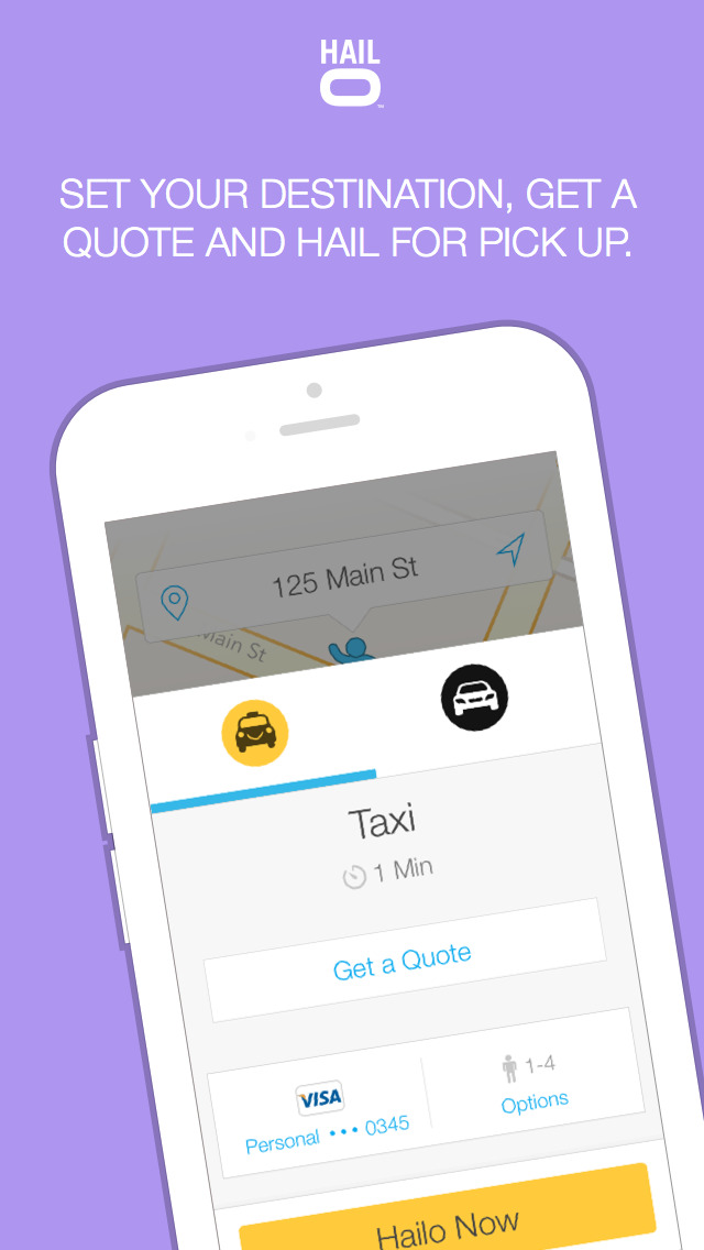 Hailo - The Taxi App screenshot 2
