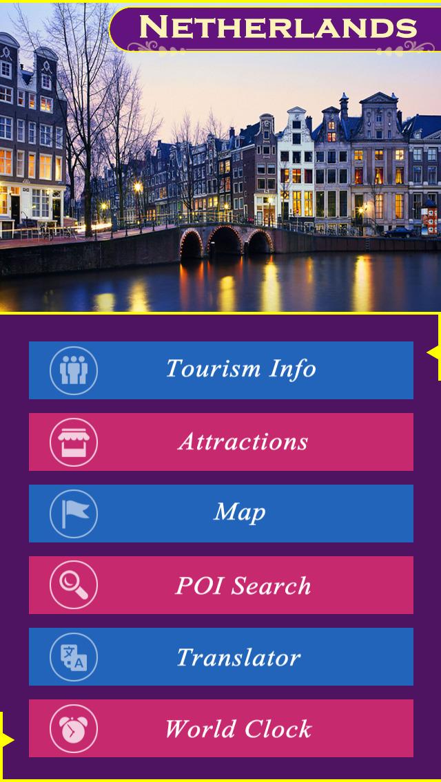 Netherlands Tourism Guide screenshot 2