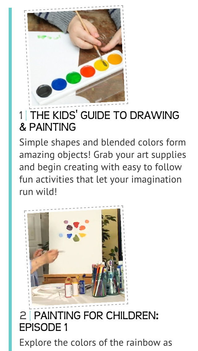 The Kids' Guide to Drawing and Painting screenshot 2