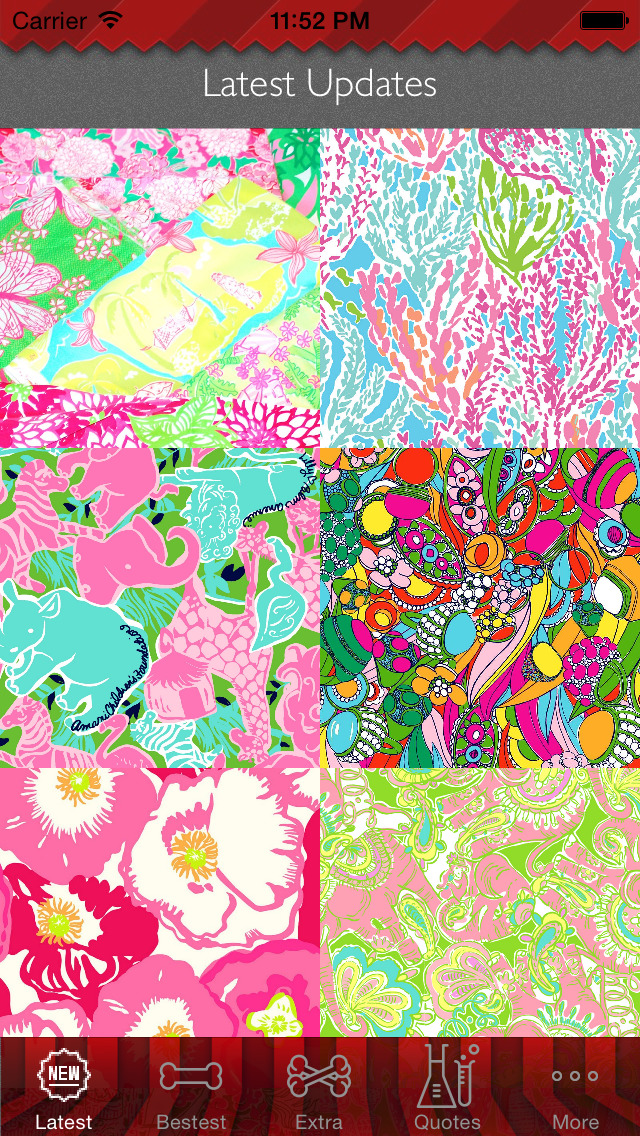 Wallpaper for Lilly Pulitzer Design HD and Quotes Backgrounds Creator with Best Prints and Inspiration screenshot 1