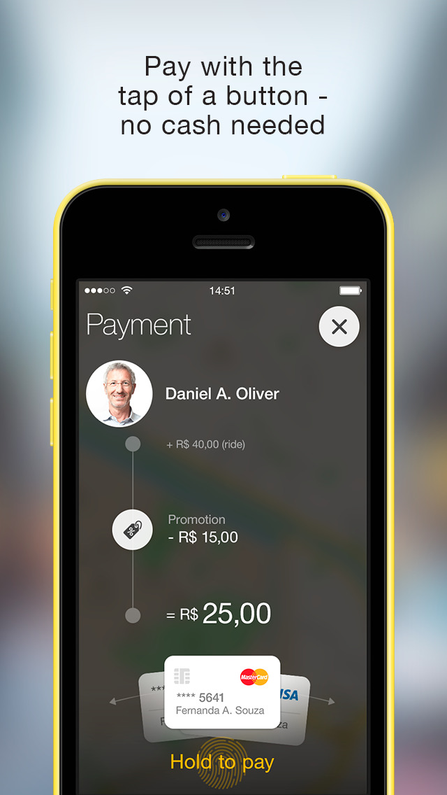 Easy Taxi, a Cabify app screenshot 4