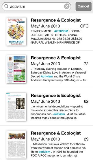 Resurgence & Ecologist screenshot 5