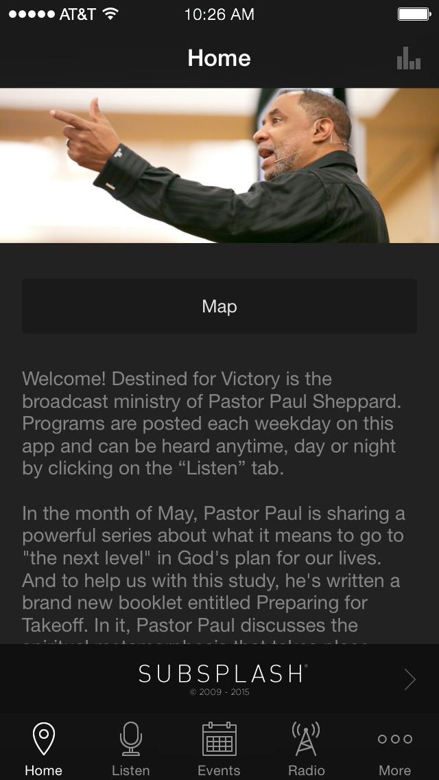 PastorPaul.net screenshot 1