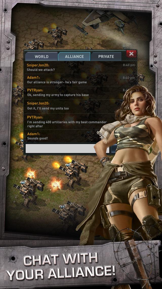 War of Nations™ - PVP Strategy screenshot 3