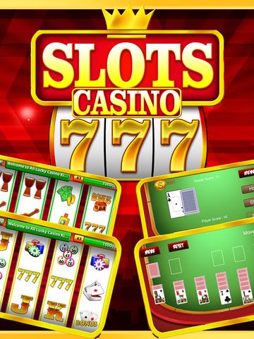 `King Caesars Jackpot Gold 777 Casino Slots - Slot Machine with Blackjack, Solitaire, Bonus Prize Wheel screenshot 6