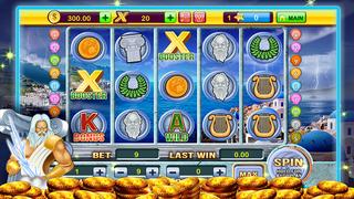 A Zeus Greek God High Roller Las Vegas Casino Slots Free screenshot 1