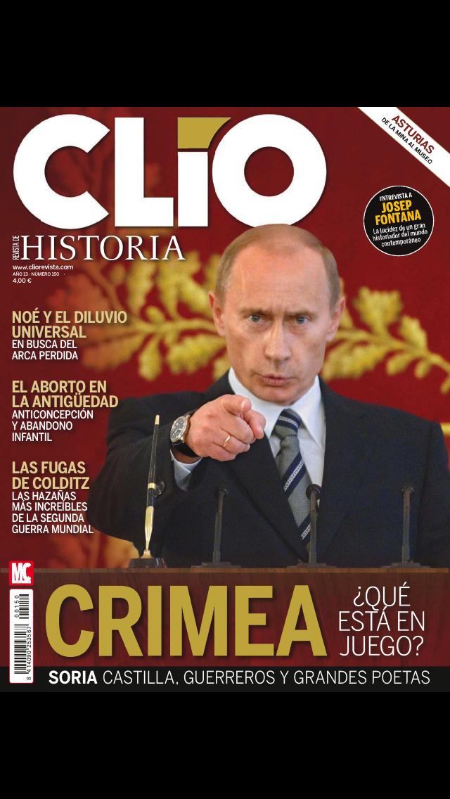 CLÍO Revista screenshot 1