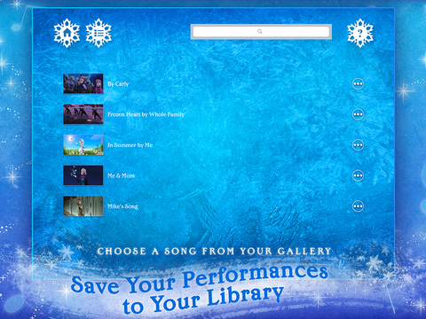 Disney Karaoke: Frozen screenshot 10