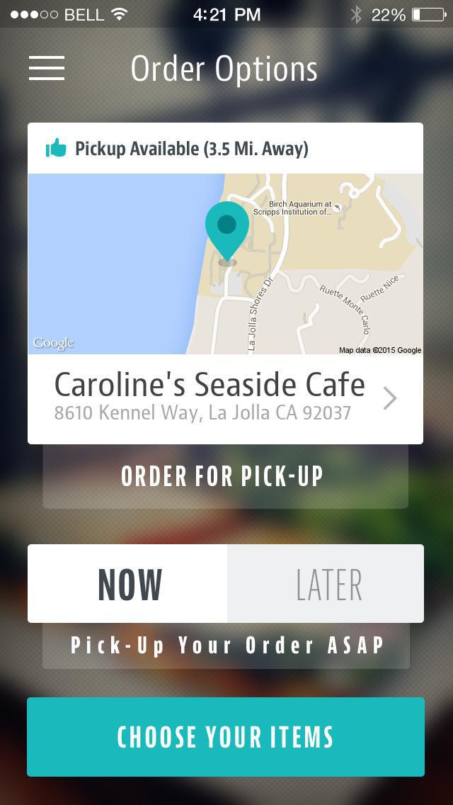 Caroline's Seaside Cafe screenshot 2