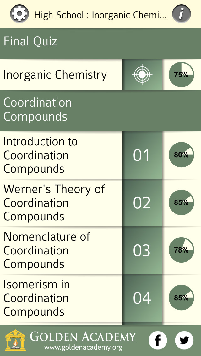 High School : Inorganic Chemistry FREE screenshot 2
