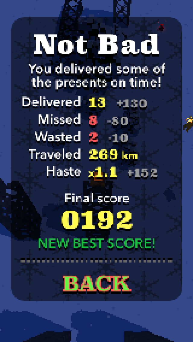 Santa Drop - Free screenshot 5