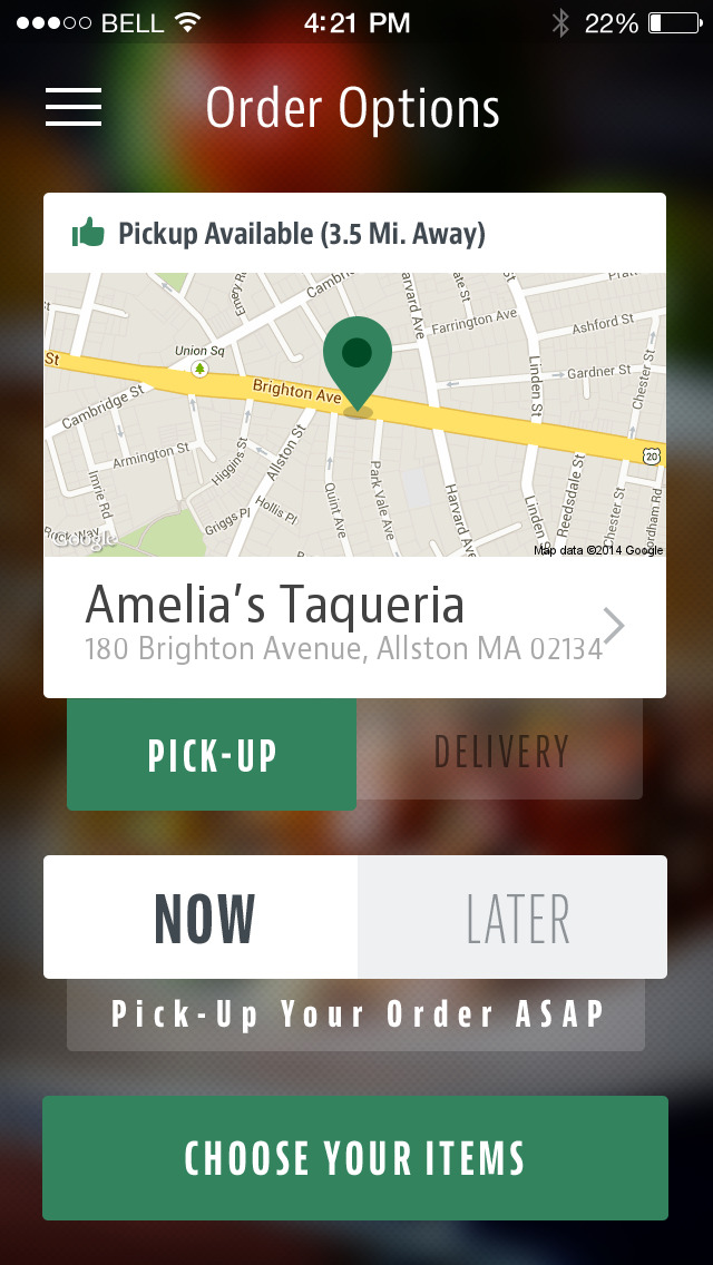 Amelia's Taqueria screenshot 2
