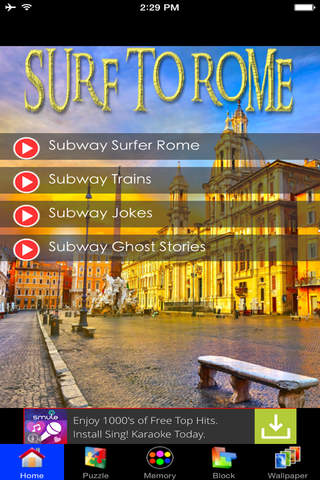 Subway Surf To Rome - náhled