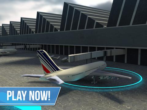 Plane Simulator PRO - landing, parking and take-off maneuvers - real airport SIM screenshot 10