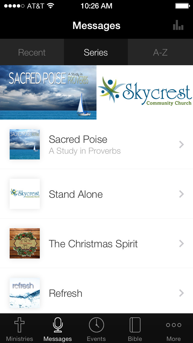 Skycrest Community Church screenshot 1