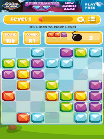 A Gem Mine: Jewel Match Line Puzzle - FREE Edition screenshot 7