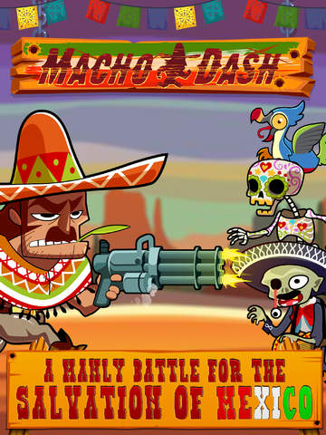 Macho Dash - Free Adventure Running Game screenshot #1
