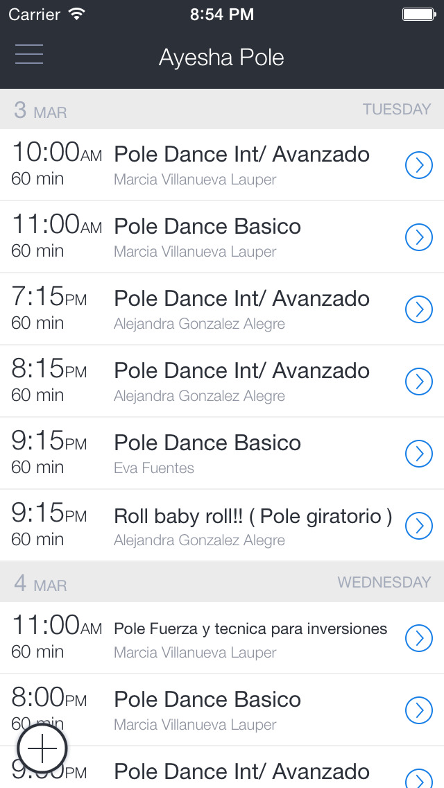 Ayesha Pole Dance & Fitness screenshot 1