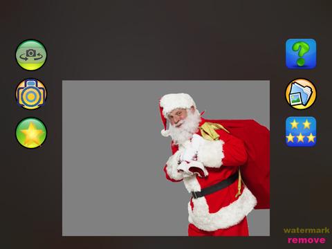 Christmas photo by Santa Claus screenshot 4