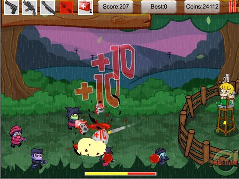 Tiny Zombies The Barricade Free screenshot 8