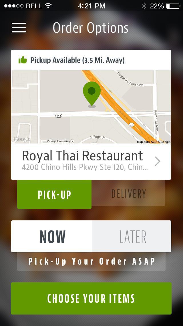 Royal Thai Restaurant screenshot 2