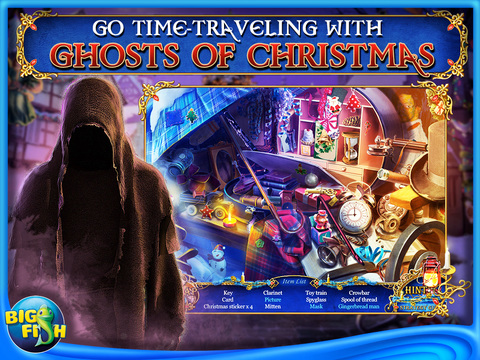 Christmas Stories: A Christmas Carol HD - A Hidden Object Game with Hidden Objects (FULL) screenshot #1