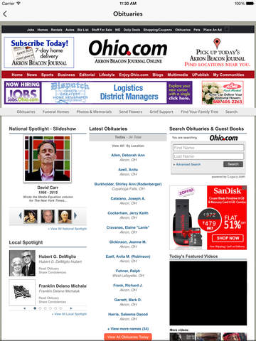 Ohio.com screenshot 9