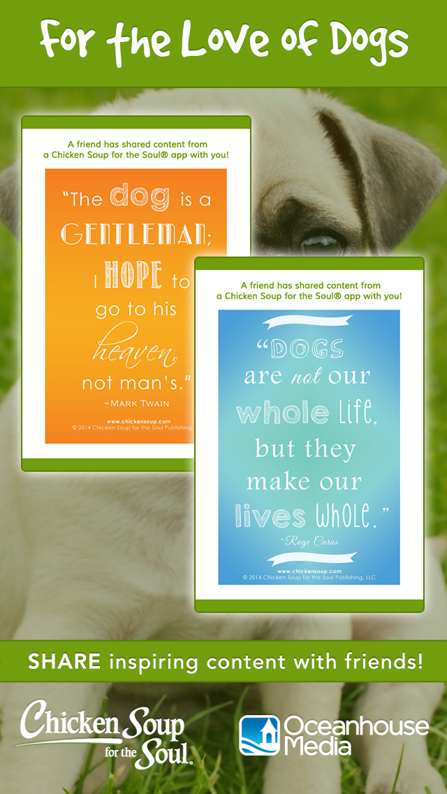 For the Love of Dogs from Chicken Soup for the Soul ® screenshot 5