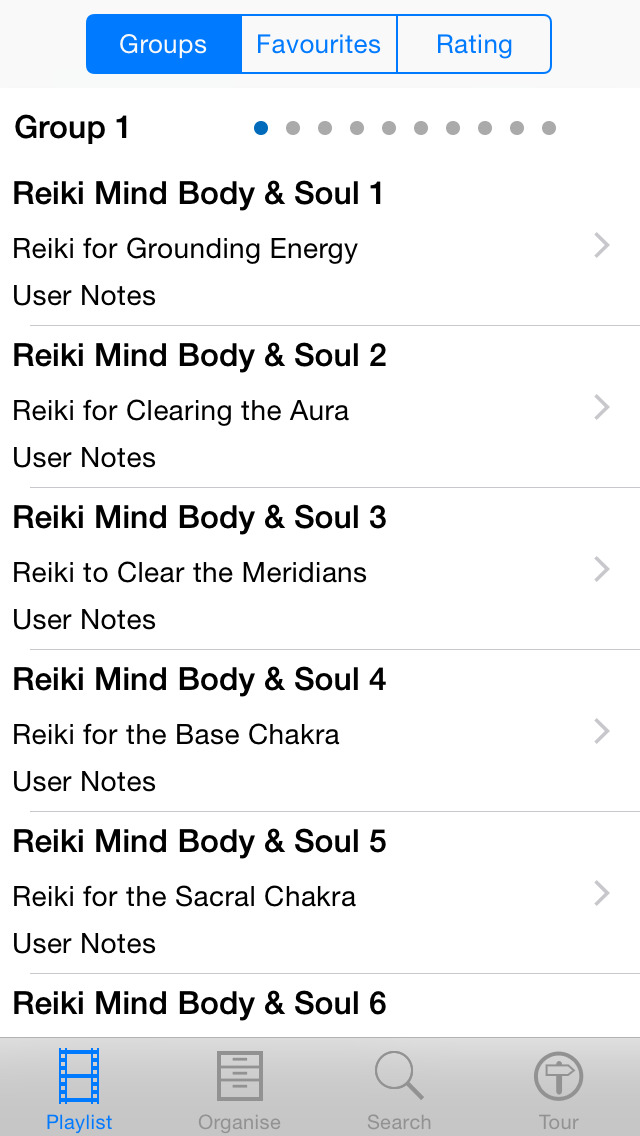 Reiki - Mind Body & Soul screenshot 3