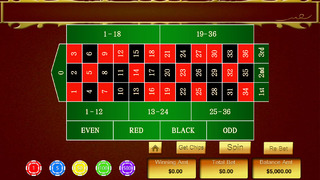 A High Roller Casino Roulette - Win Las Vegas gambling chips screenshot 3
