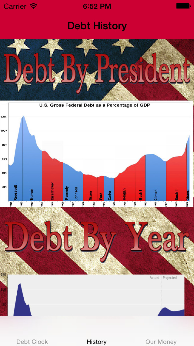 USA Debt Clock screenshot 2