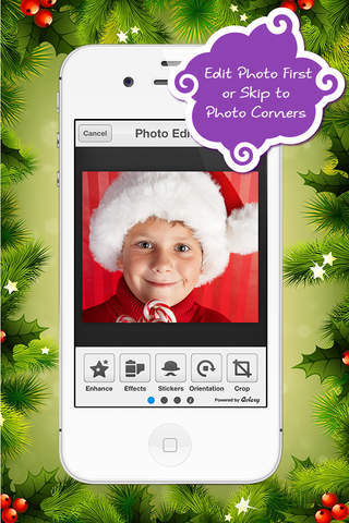 Corner My Photos Christmas Edition - Add Holiday T - náhled