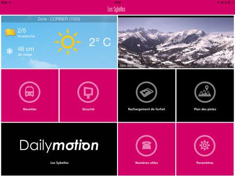 Les Sybelles pour iPad - náhled