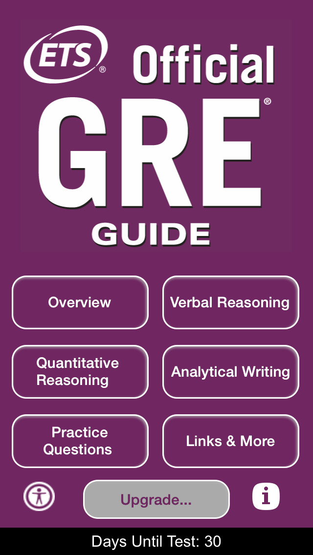 The Official GRE Guide screenshot 1