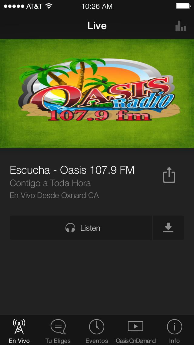 Oasis Media screenshot 3