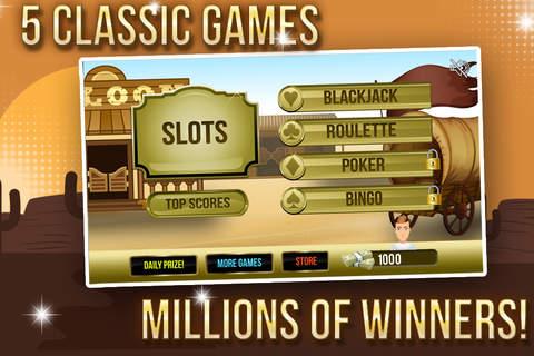 Wild West Poker Party with Bingo Ball, Blackjack B - náhled
