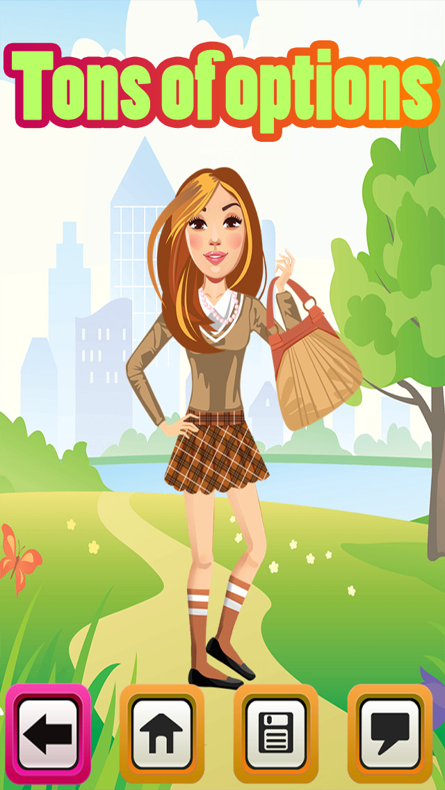 My High School BFF Fashion Club Dress Up Game screenshot 3