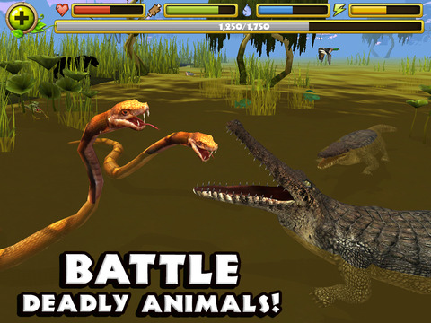 Wildlife Simulator: Crocodile screenshot 7
