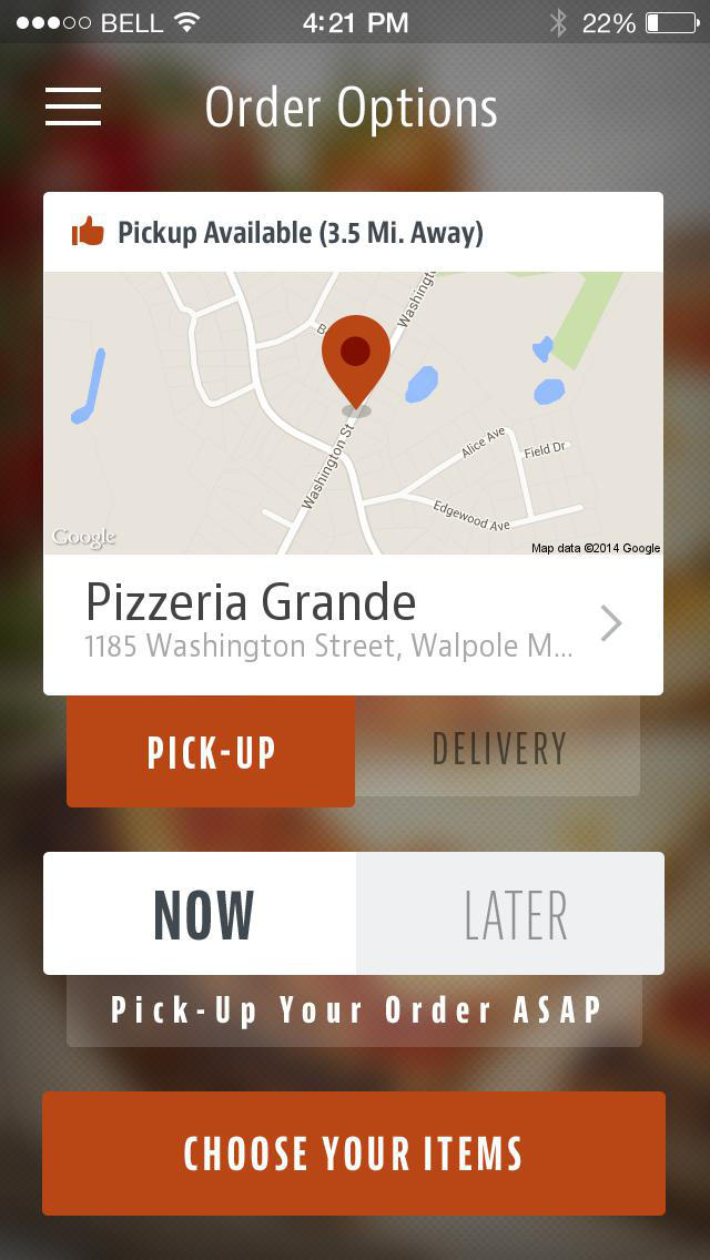 Pizzeria Grande screenshot 2