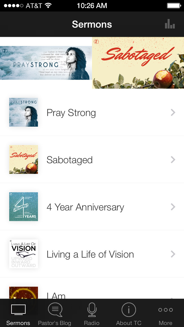 Transformation Church App screenshot 1