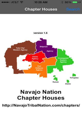Navajo Chapter Houses - náhled